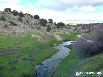 Puentes Medievales Río Manzanares; ruta peña trevinca parque natural muniellos visitar lagunas de